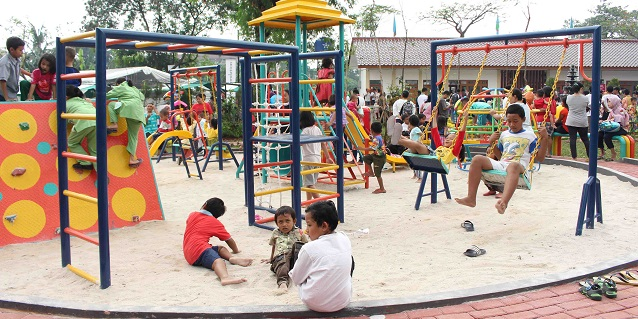 Tanoto Foundation Transforms a Space into Hub for Community Life