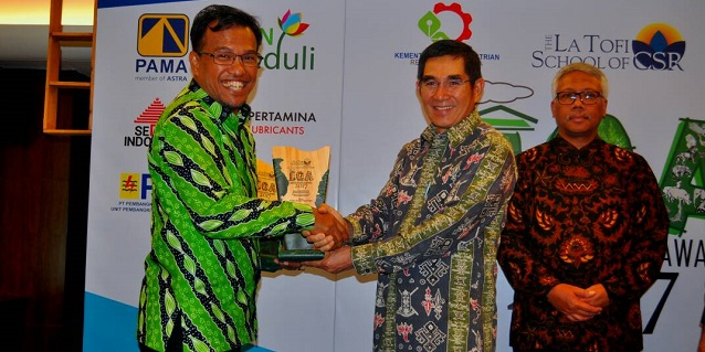 APRIL Receives Honours at Indonesia Green Awards 2017