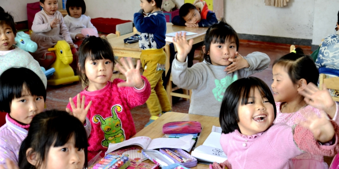 Beaming Smiles and Grateful Hearts as Sateri Improves Kindergarten Facilities in Fujian