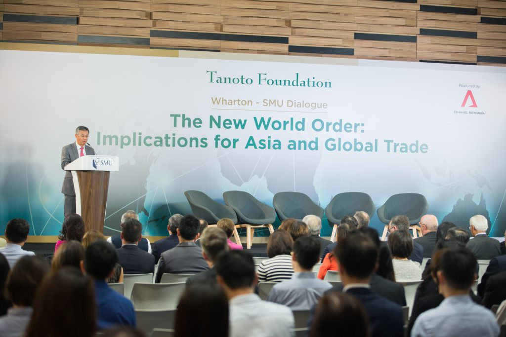 Bey Soo Khiang Tanoto Foundation Vice Chairman Wharton-SMU Dialogue