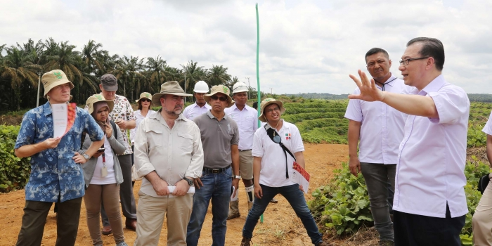 Asian Agri Shares Sustainable Practices with EU Diplomats
