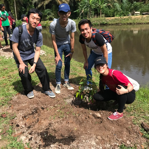 Project Sukacita Tanoto Foundation Tree Planting