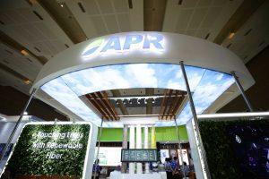 Asia Pacific Rayon's (APR) award-winning booth