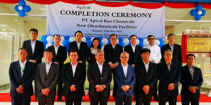 Apical-Kao Joint Venture Opens in Indonesia