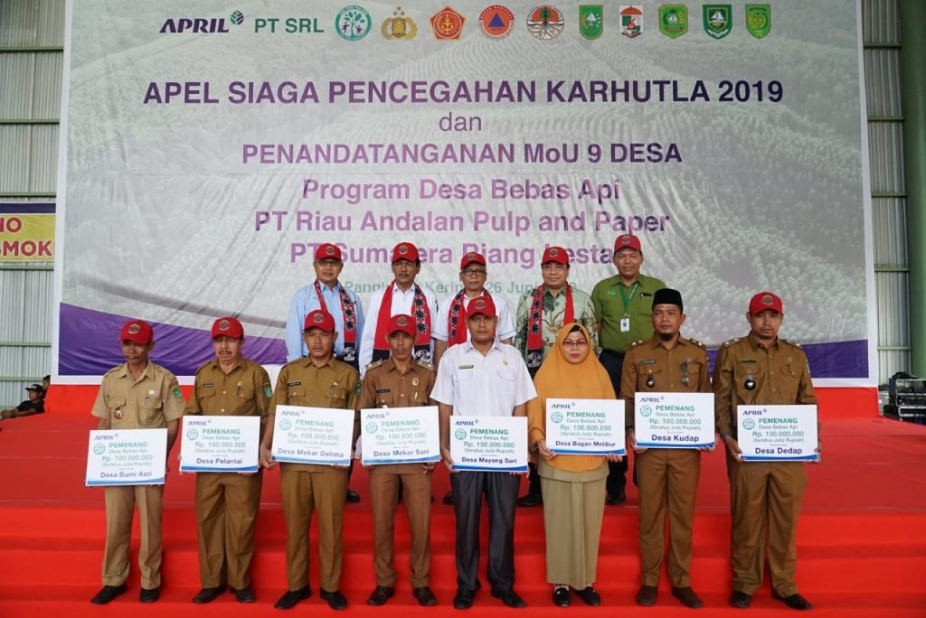 APRIL Fire Free Village Programme Awardees