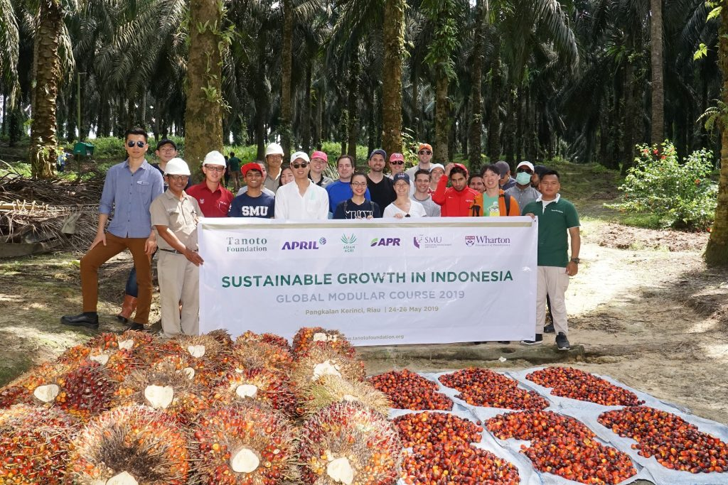 Tanoto Foundation Wharton-SMU GMC - Sustainable Growth in Indonesia