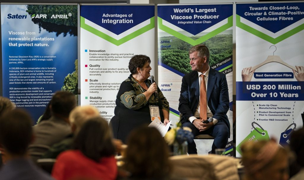 Erik Solheim Textile Exchange Sustainability Conference 2019