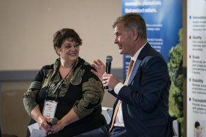 Erik Solheim Textile Exchange Sustainability Conference 2019 Fireside Chat