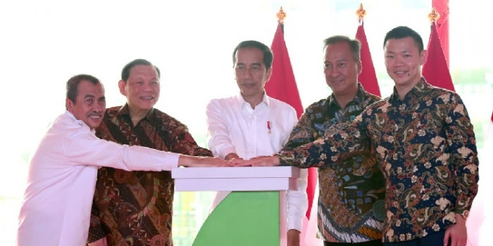 Asia Pacific Rayon Inaugurated by President Joko Widodo