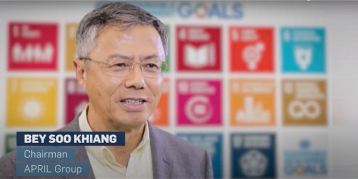 Advancing the SDGs: APRIL featured in UNGC video
