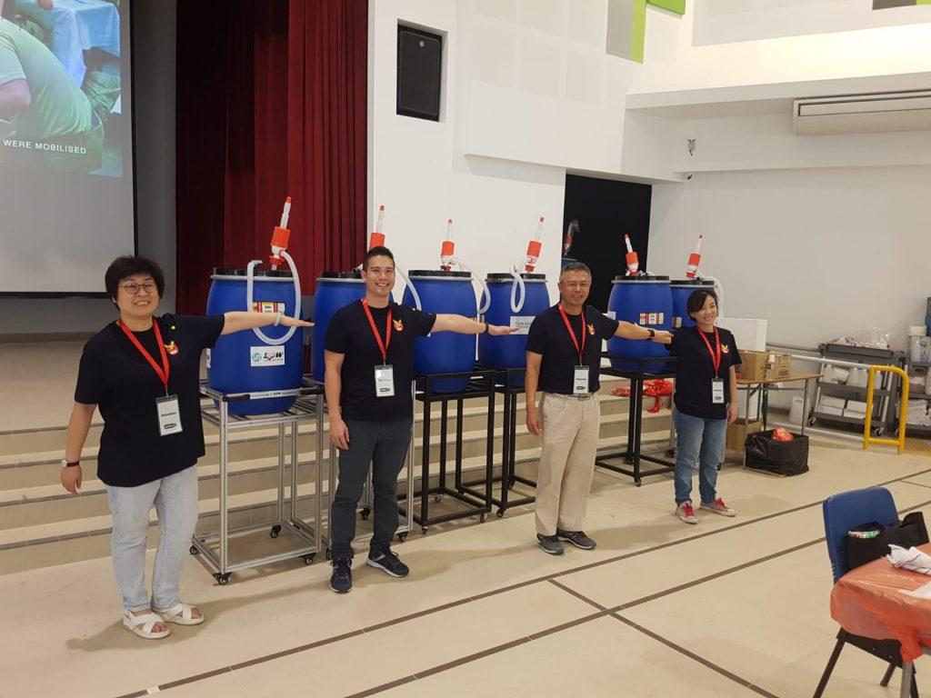RGE Singapore Volunteers at Temasek Foundation BYOBclean community project