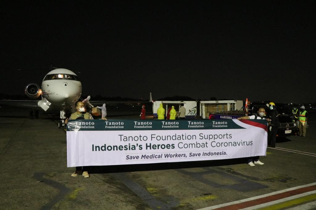 Tanoto Foundation COVID-19 mask donations to support healthcare professionals