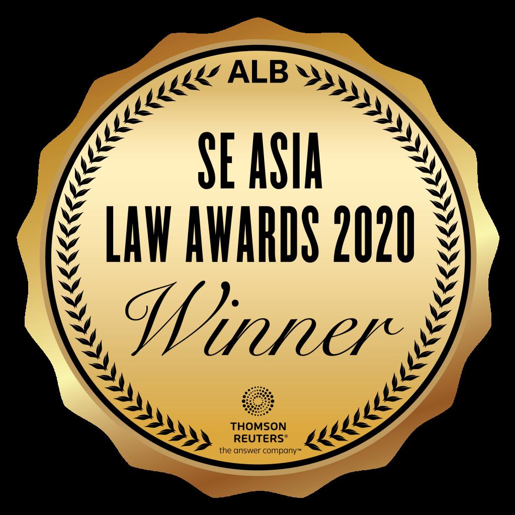 RGE SE Asia Law Awards 2020 winner