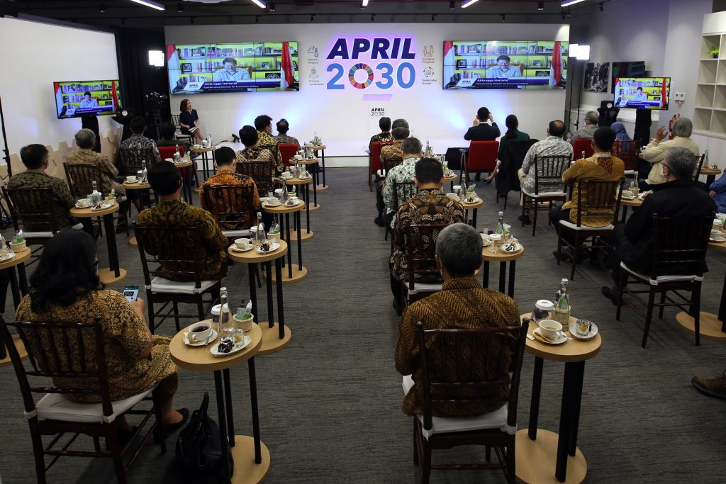 APRIL2030 Launch and Conference at Tanoto Foundation Building