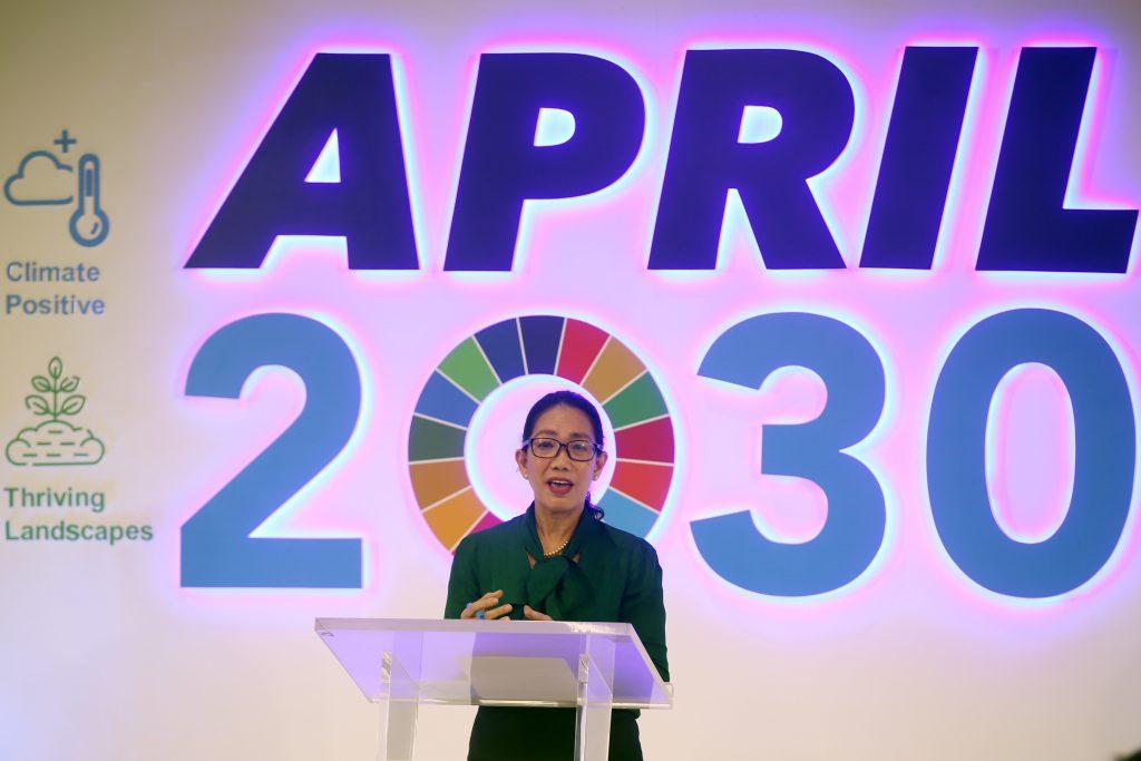 APRIL Group Sustainability Director Lucita Jasmin APRIL2030