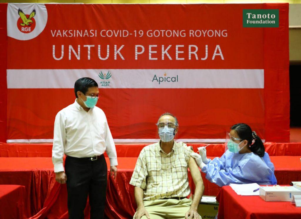 Asian Agri Gotong Royong Vaccination Medan