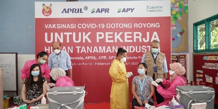 RGE Companies Kick Off Gotong Royong Vaccinations For Employees