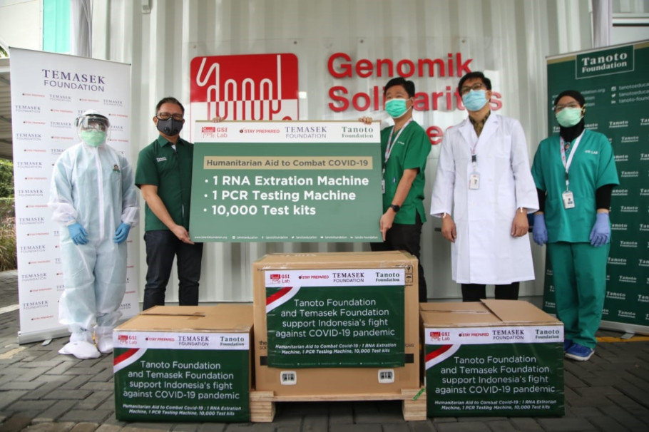 Tanoto Foundation Temasek Foundation GSI Lab